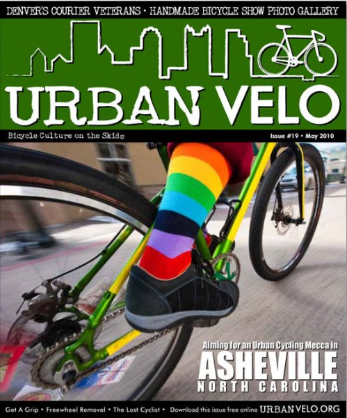 Urban Velo - Issue #19 (May 2010) cover