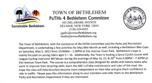 Bethlehem Bike Month Event