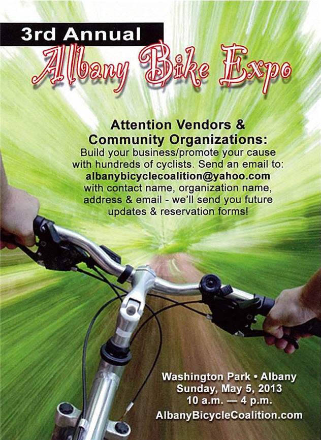 Albany Bike Expo Vendor Information