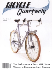 Bicycle Quarterly Spring 2014COMP