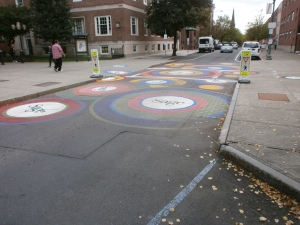 Crosswalk at Sage College - PreRamble 2015