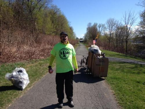 Uncle Sam Trail Clean Up 4-23-16