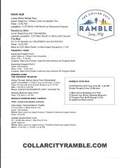 Ramble Flyer 2017