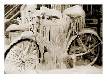 558543~Ice-Covered-Bicycle-Wisconsin-Posters