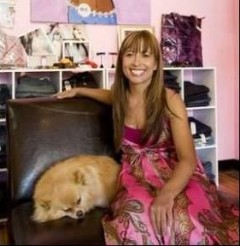Diva with Dog COMP
